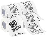 "infactory WC Papier: Toilettenpapier ""Witze"", 1 Rolle (Fun Toilettenpapier Rollen)"