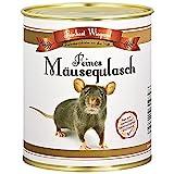 Mäusegulasch aus der Dose - Spaßgeschenk - Scherzartikel - Wichtelgeschenk - Nikolausgeschenk - Weihnachtsgeschenk - Geburtstagsgeschenk